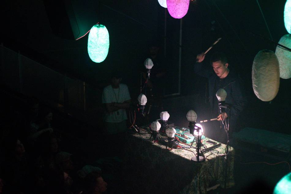 Purity Ring at Venue concert photo