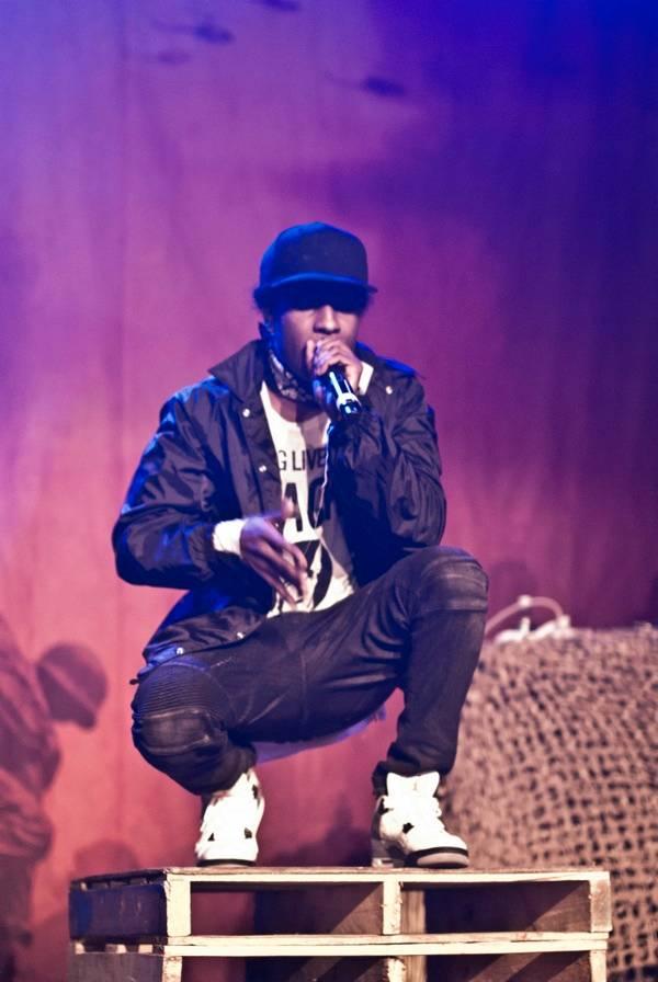 ASAP Rocky at Vogue Theatre Vancouver concert photo