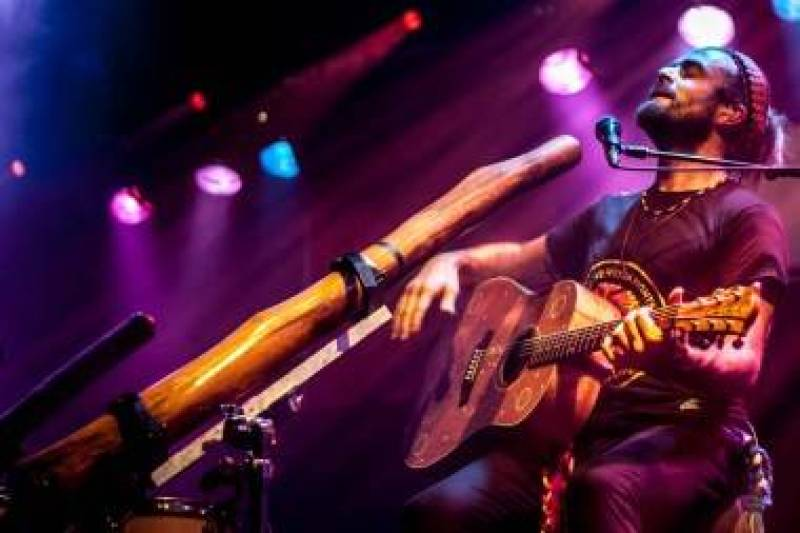 Xavier Rudd at the Commodore Ballroom