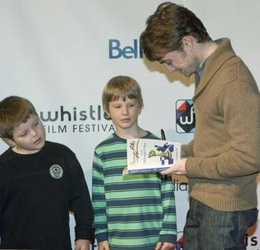 Daniel Radcliffe Whistler Film Festival 2012 photo
