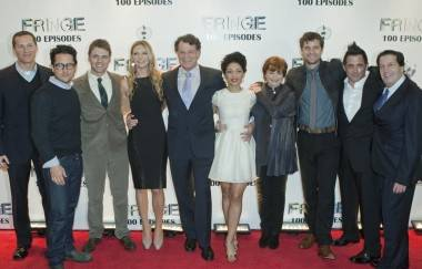 Fringe TV series cast and crew photo