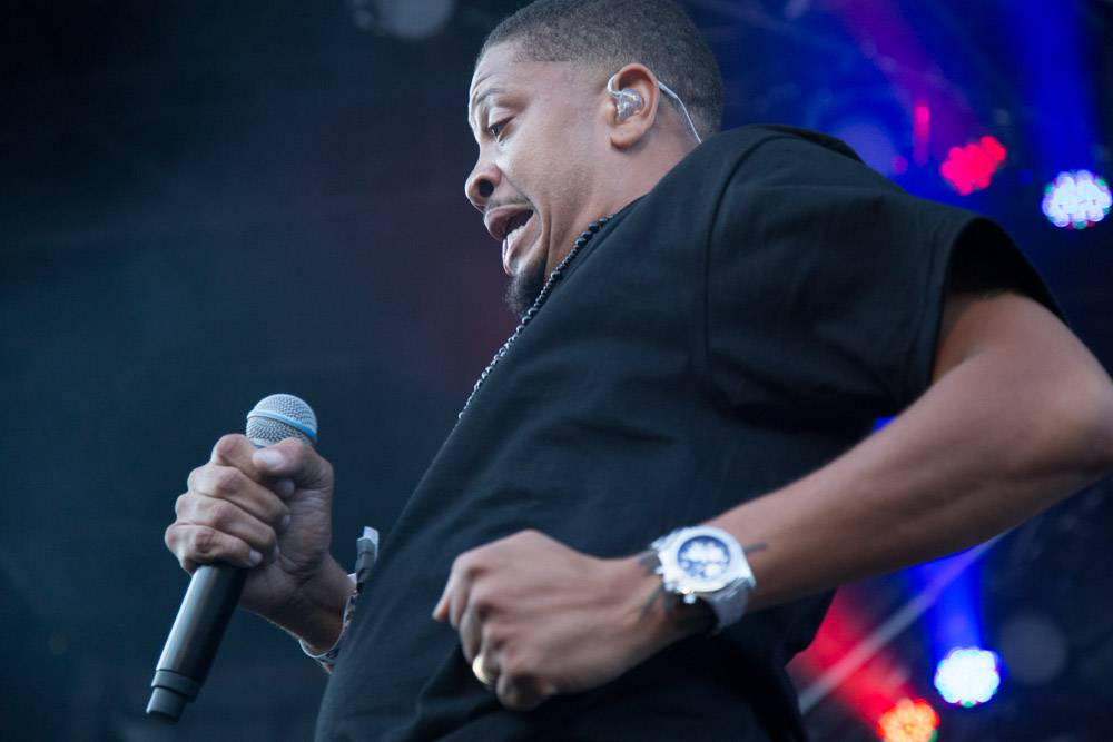 Jurassic 5 at the Squamish Valley Music Festival Aug 9 2013. Kirk Chantraine photo