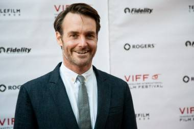 Actor Will Forte Vancouver International Film Festival Opening Gala, Vancouver, Sept 26 2013. Kirk Chantraine photos.