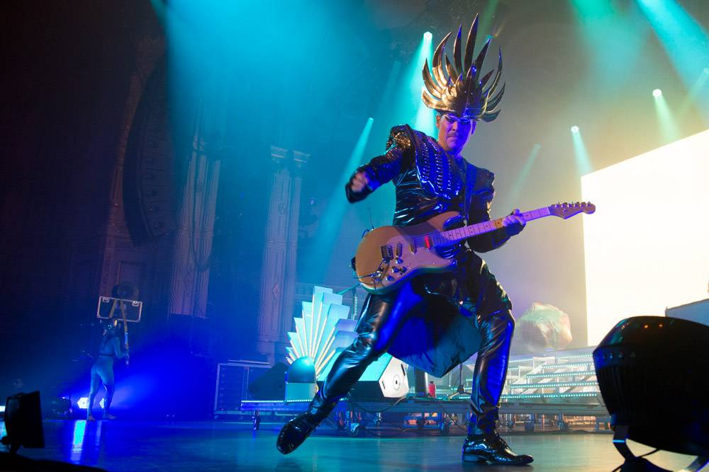 Empire of the Sun at the Orpheum, Vancouver, Oct 22 2013. Kirk Chantraine photo.