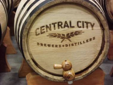 Central City brewery and distillery
