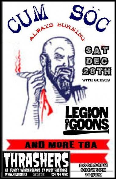 Legion of Goons Show poster