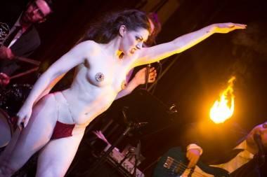Tarantino Burlesque at Vancouver Fanclub