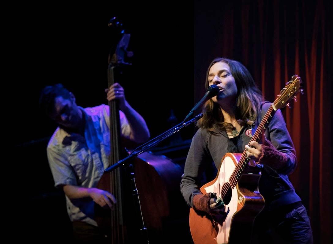 Ani Difranco at the Chan Centre Vancouver