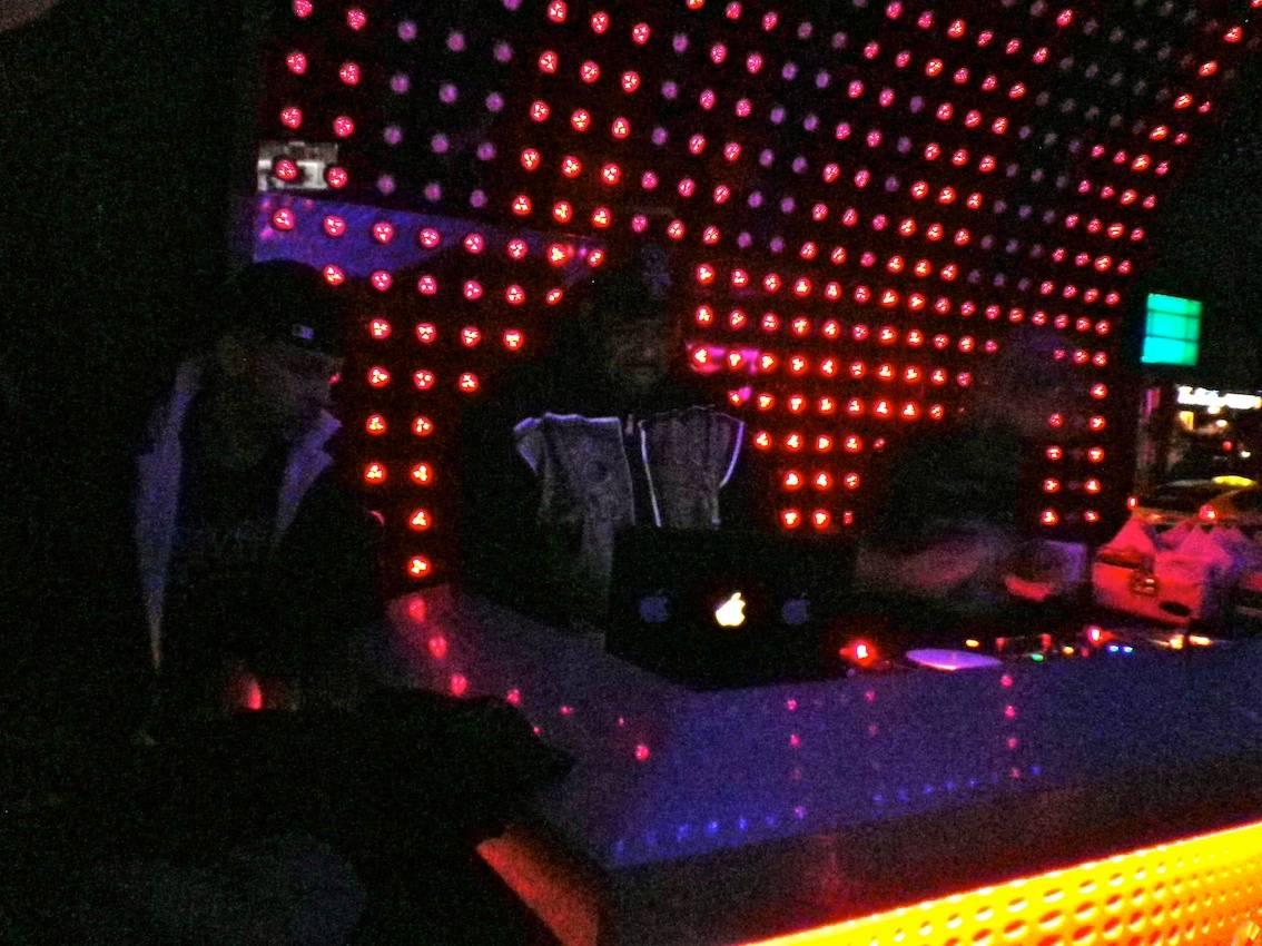 Afrika Bambaataa at LED Bar