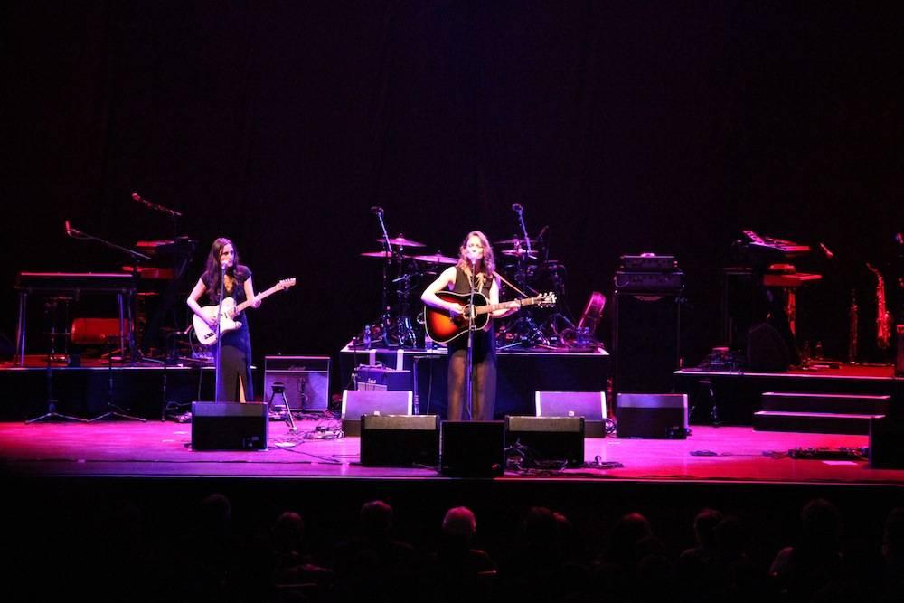 Dawn Landes at the Queen Elizabeth Theatre, Vancouver
