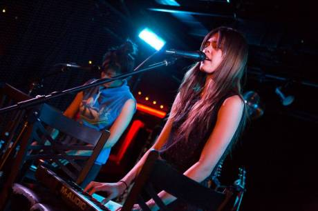 Priscilla Ahn at the Biltmore Cabaret, Vancouver, May 12 2014. Kirk Chantraine photo.