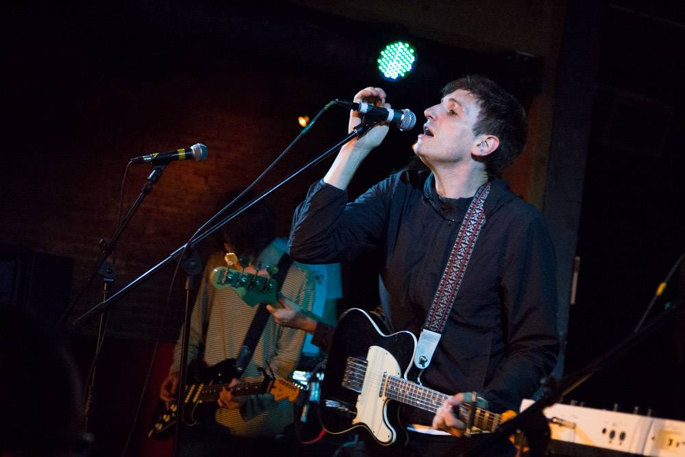 The Pains Of Being Pure At Heart at Fortune Sound Club, Vancouver, May 2 2014. Kirk Chantraine photo.