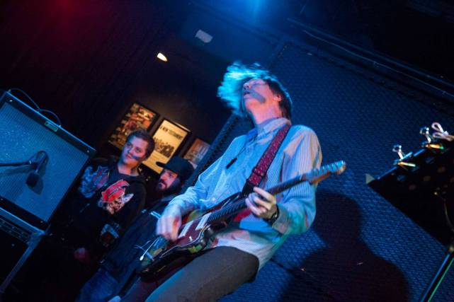 Thurston Moore at the Biltmore Cabaret, Vancouver, Oct. 3 2014. Kirk Chantraine photo.