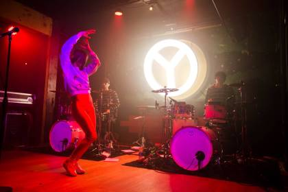 Yelle at Fortune Sound Club, Vancouver, Oct. 25 2014. Kirk Chantraine photo.