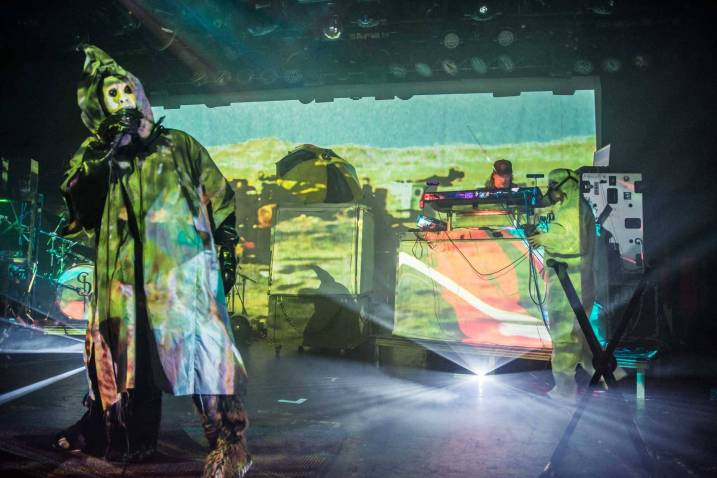 Skinny Puppy at the Commodore Ballroom, Vancouver, Dec. 16 2014. Pavel Boiko photo.