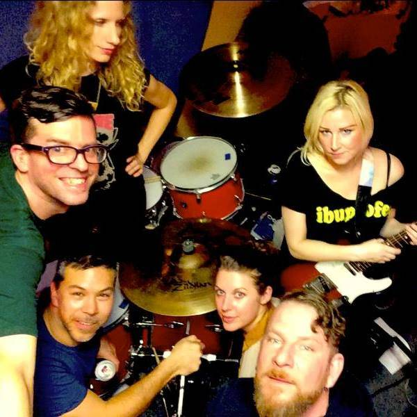 CATLOW- band photo-Emily Bach-Barry HIgginson-Squid-Laurel  Borrowman-Jay Slye and lead Natasha Thirsk