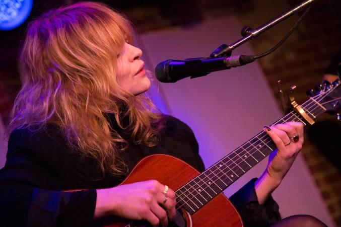 Jessica Pratt at the Electric Owl, Vancouver, Feb. 21 2015. Kirk Chantraine photo.