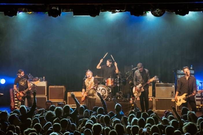 The Gaslight Anthem at the Commodore Ballroom, Vancouver, Mar. 19 2015. Pavel Boiko photo.