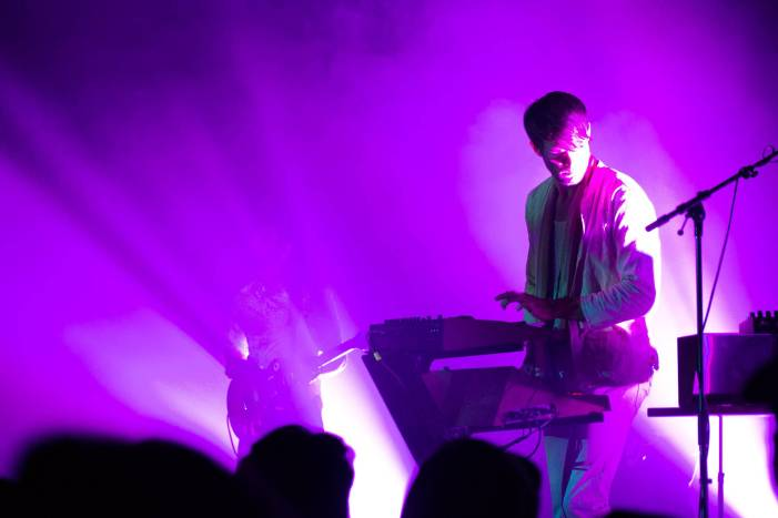 Tycho at the Commodore Ballroom, Vancouver, Mar. 17 2015. Kirk Chantraine photo.