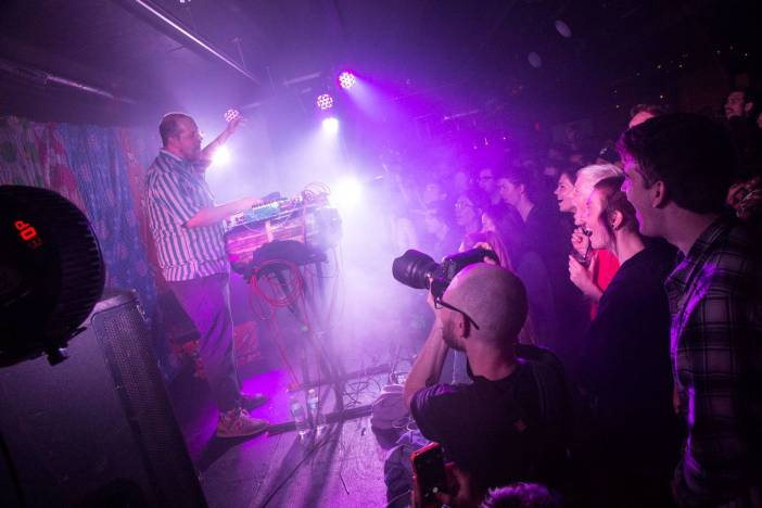 Dan Deacon at the Electric Owl, Vancouver, May 7 2015. Kirk Chantraine photo.