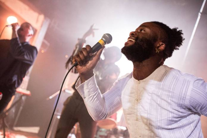 Young Fathers at Fortune Sound Club, Vancouver, Apr. 30 2015. Kirk Chantraine photo.