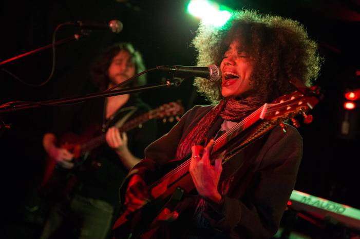 Nneka at the Biltmore Cabaret, Vancouver, June 1 2015. Kirk Chantraine photo.
