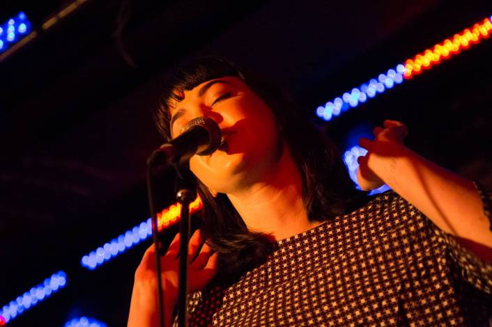 Yumi Zouma at the Electric Owl, Vancouver, July 23 2015. Kirk Chantraine photo.