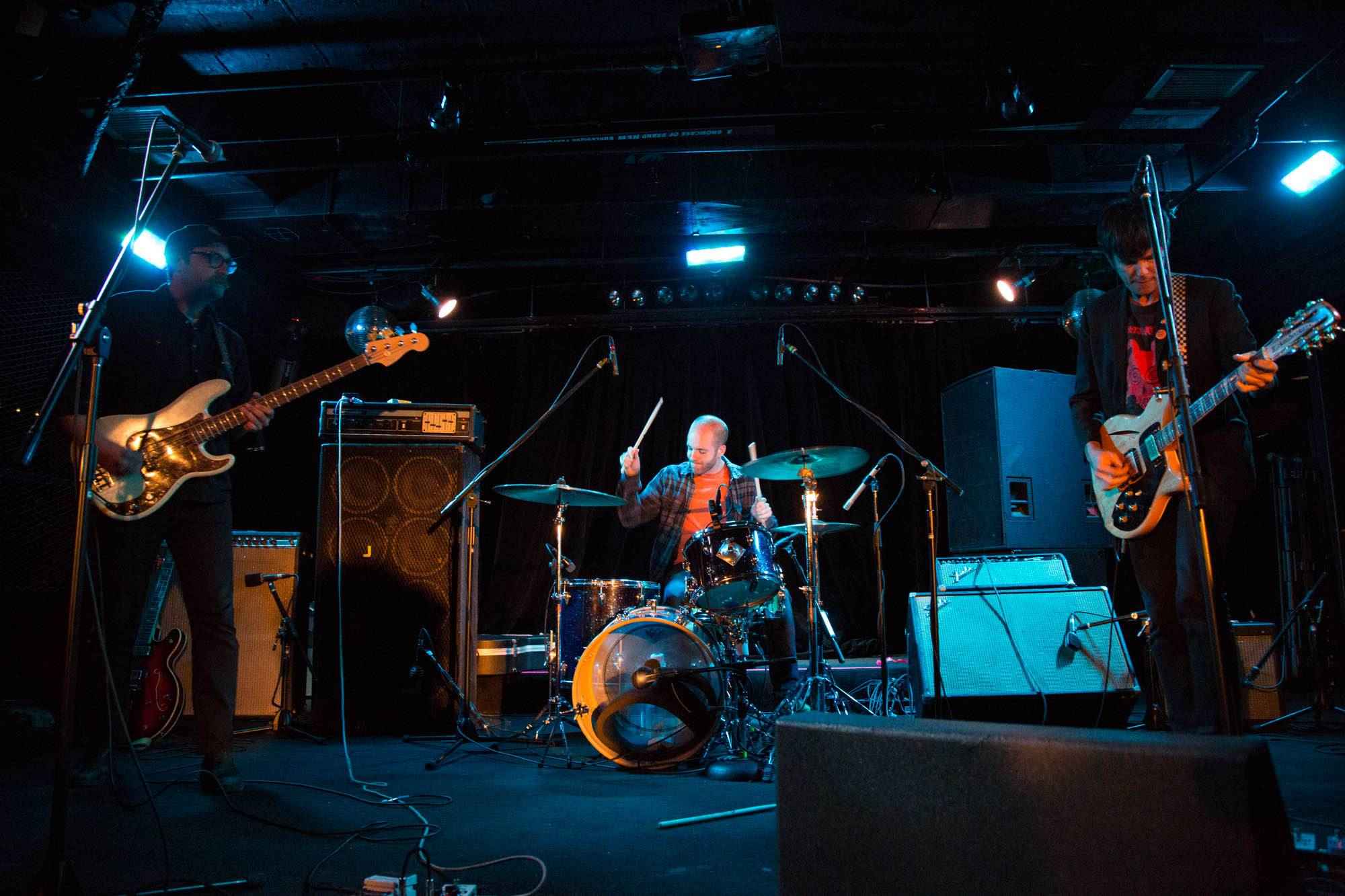 The Cairo Gang at the Biltmore Cabaret, Vancouver, Sept 7 2015. Kirk Chantraine photo.