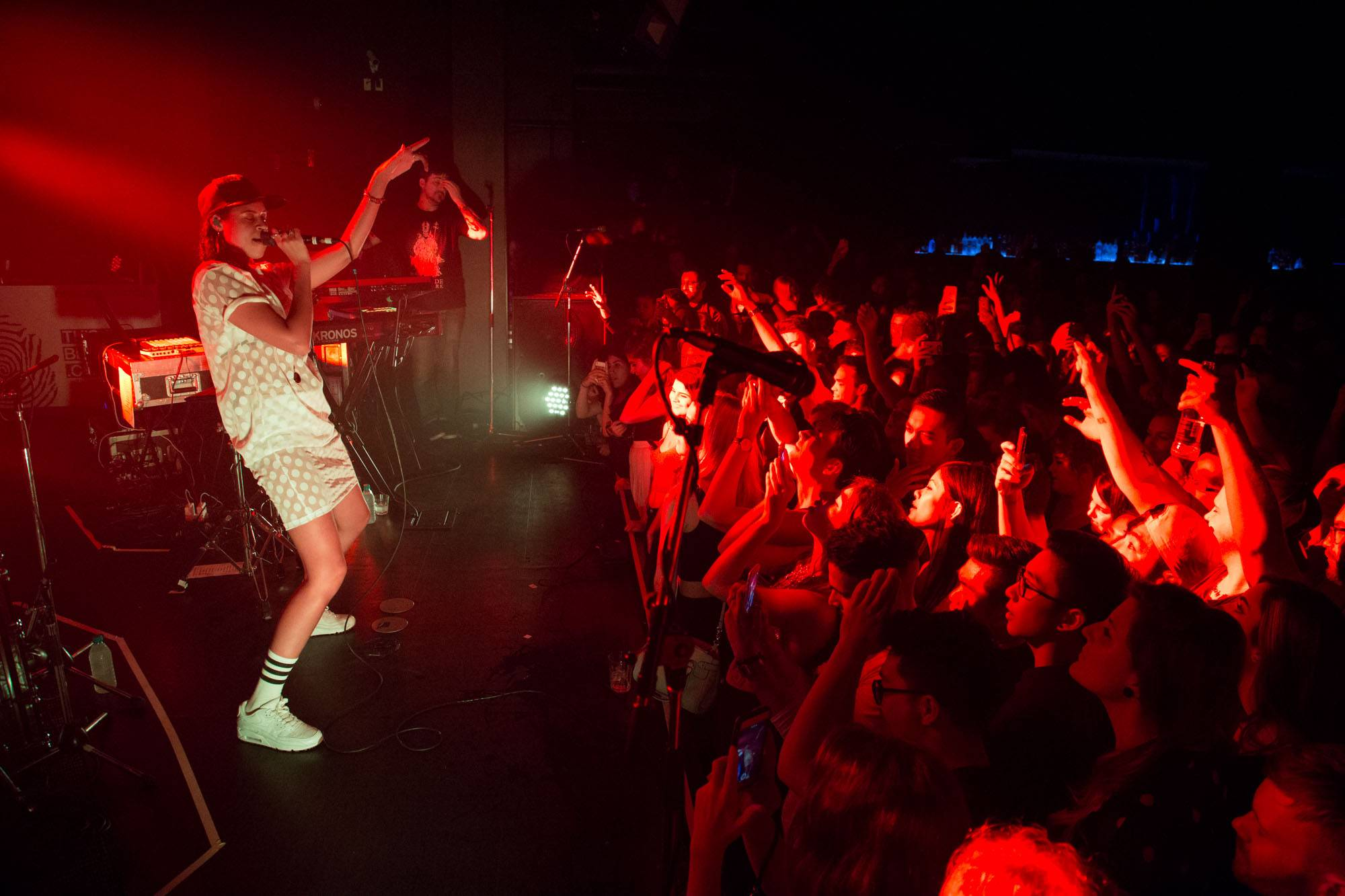 AlunaGeorge at Celebrities, Vancouver, Oct 17 2015. Kirk Chantraine photo.