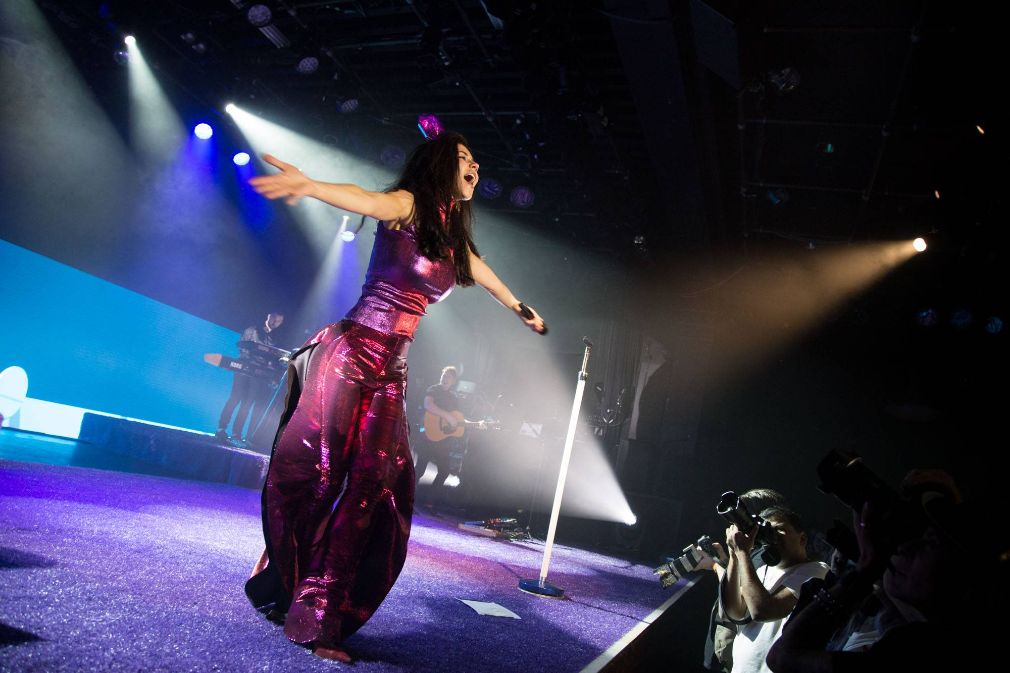 Marina and the Diamonds at the Commodore Ballroom, Vancouver, Oct 24 2015. Kirk Chantraine photo.