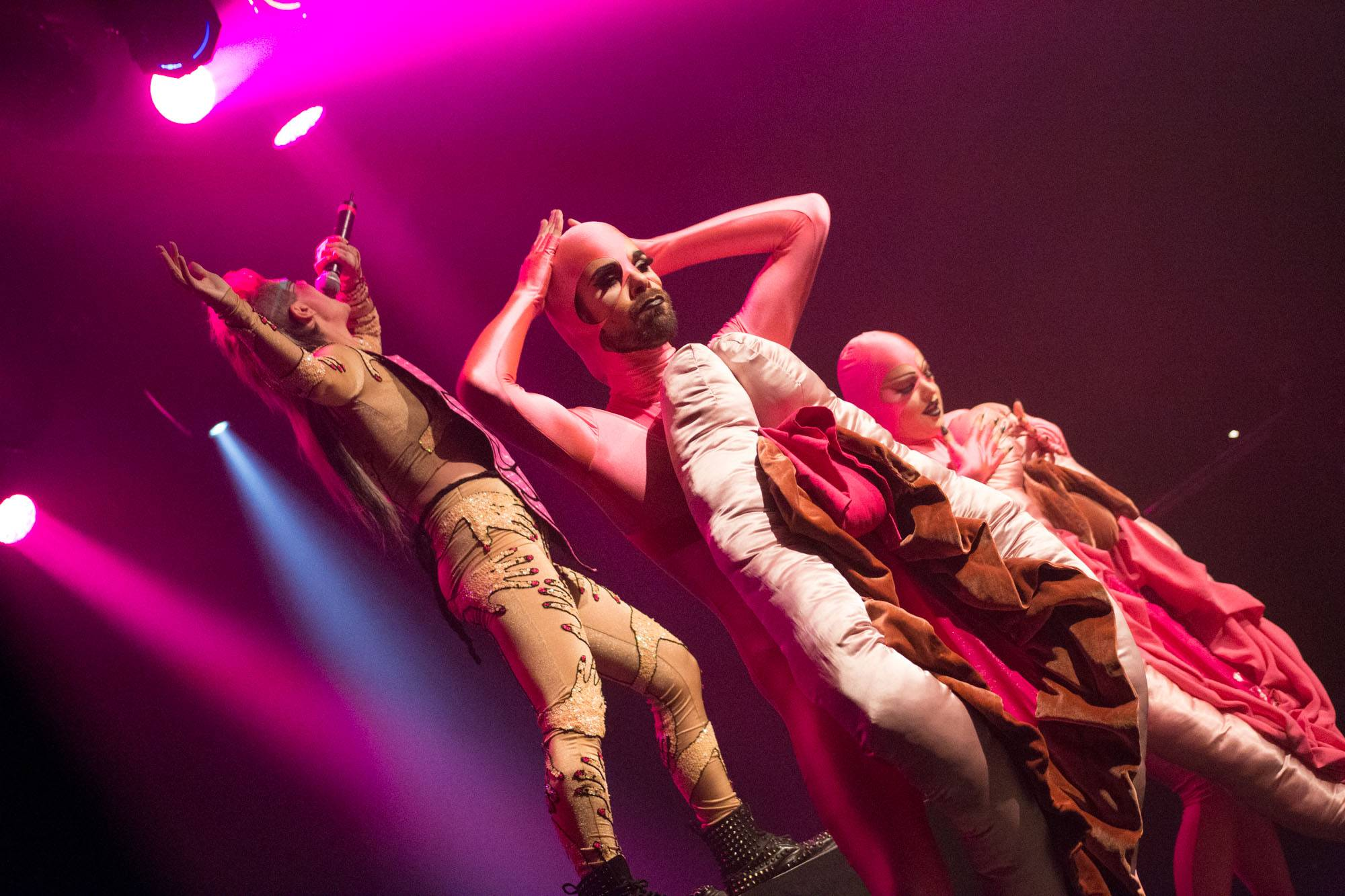 Peaches at the Commodore Ballroom, Vancouver, Oct 6 2015. Kirk Chantraine photo.
