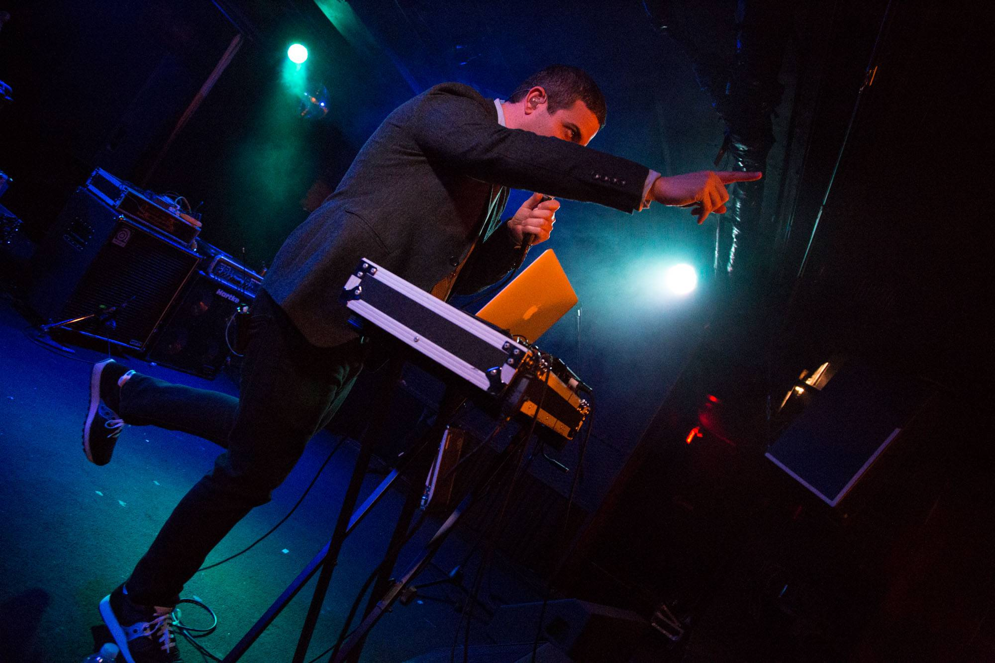Say Hi at the Biltmore Cabaret, Vancouver, Oct 2 2015. Kirk Chantraine photo.