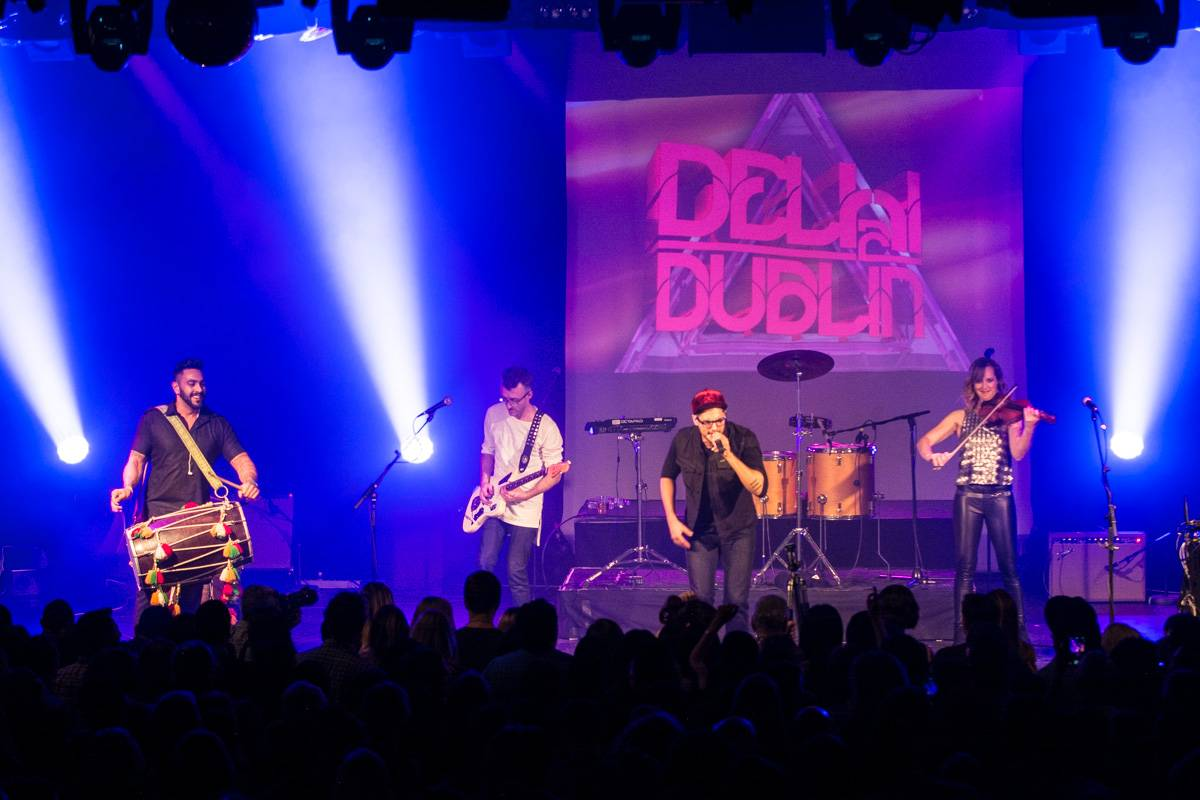 Delhi 2 Dublin at the Commodore Ballroom, Vancouver, Mar. 5 2016. Pavel Boiko photo.