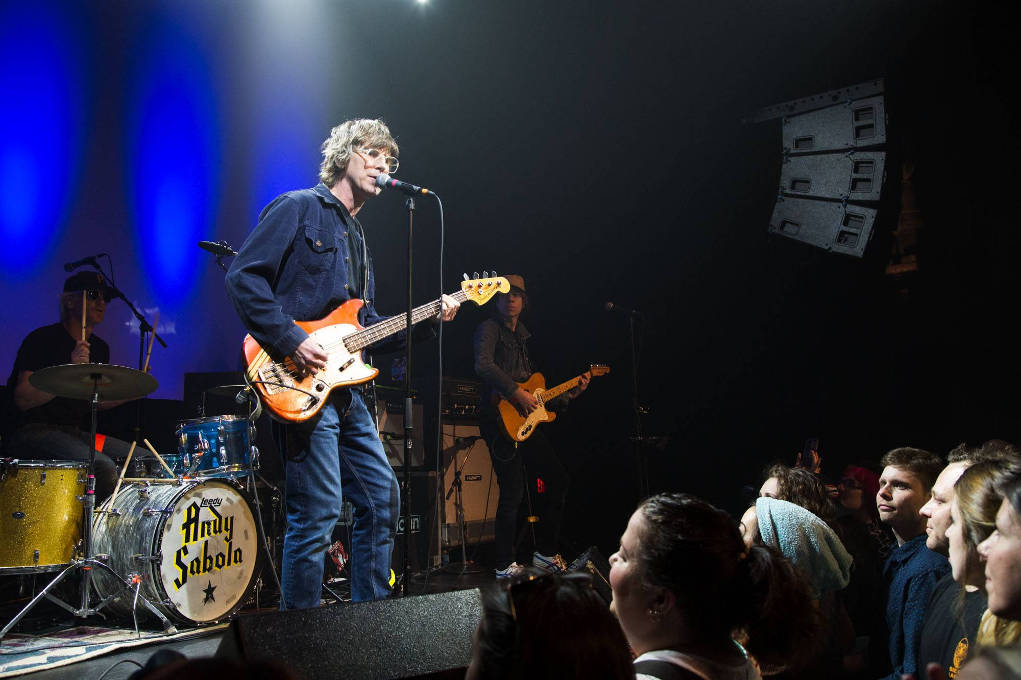 Sloan at the Imperial Theatre, Vancouver, Apr. 20 2016. Kirk Chantraine photo.