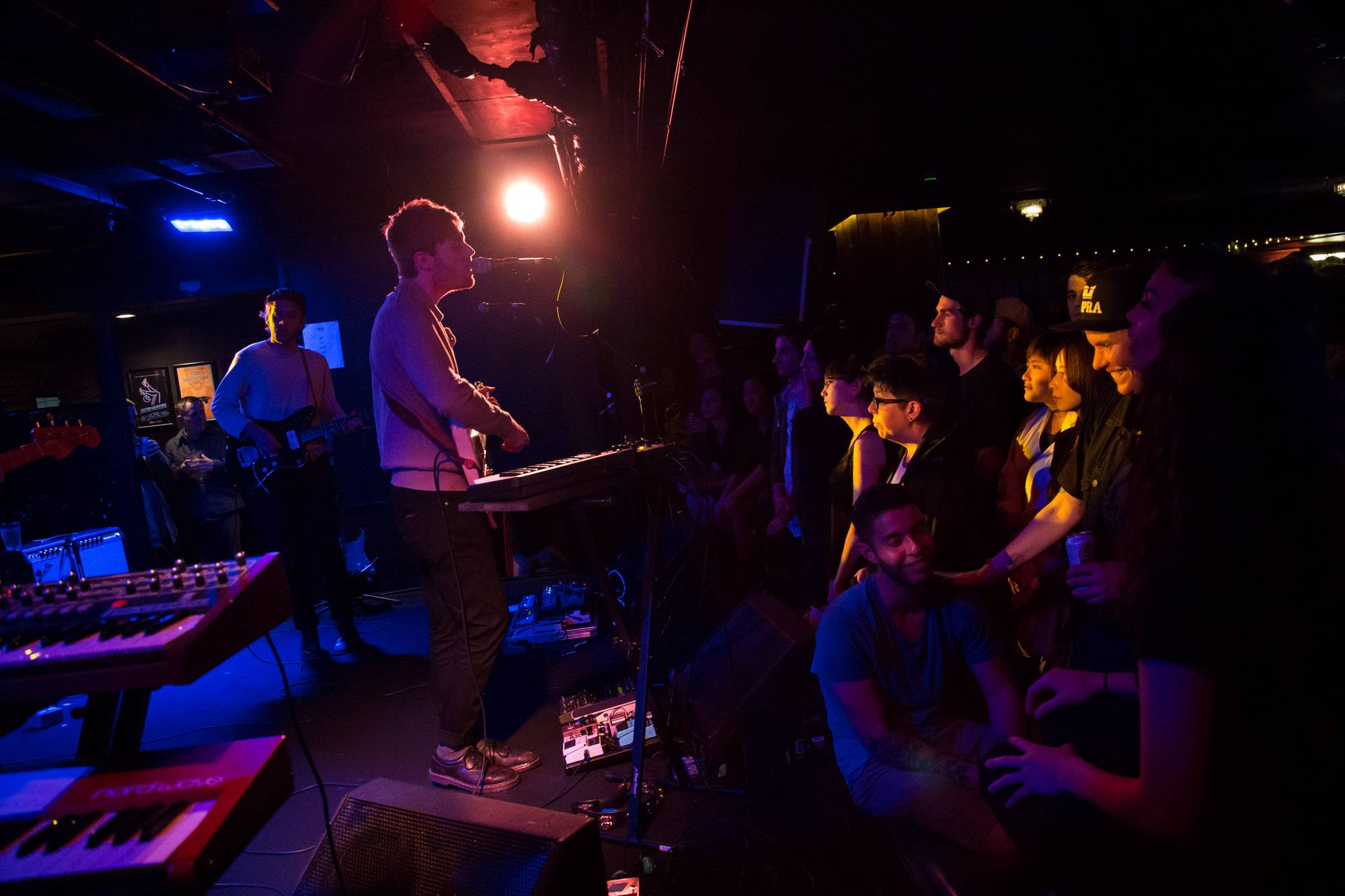 Wild Nothing at the Biltmore Cabaret, Vancouver, Apr. 26 2016. Kirk Chantraine photo.