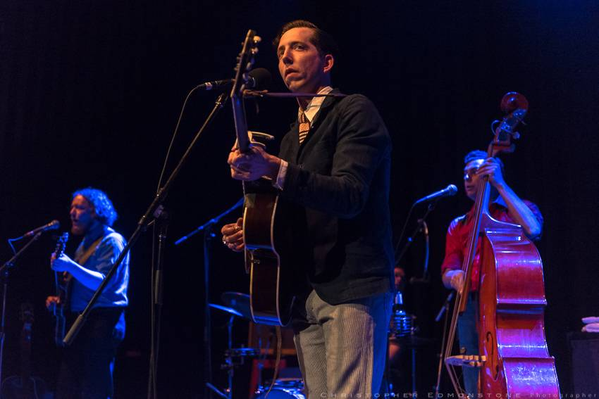 Pokey LaFarge at the Imperial, Vancouver, May 5 2016. Christopher Edmonstone photo.
