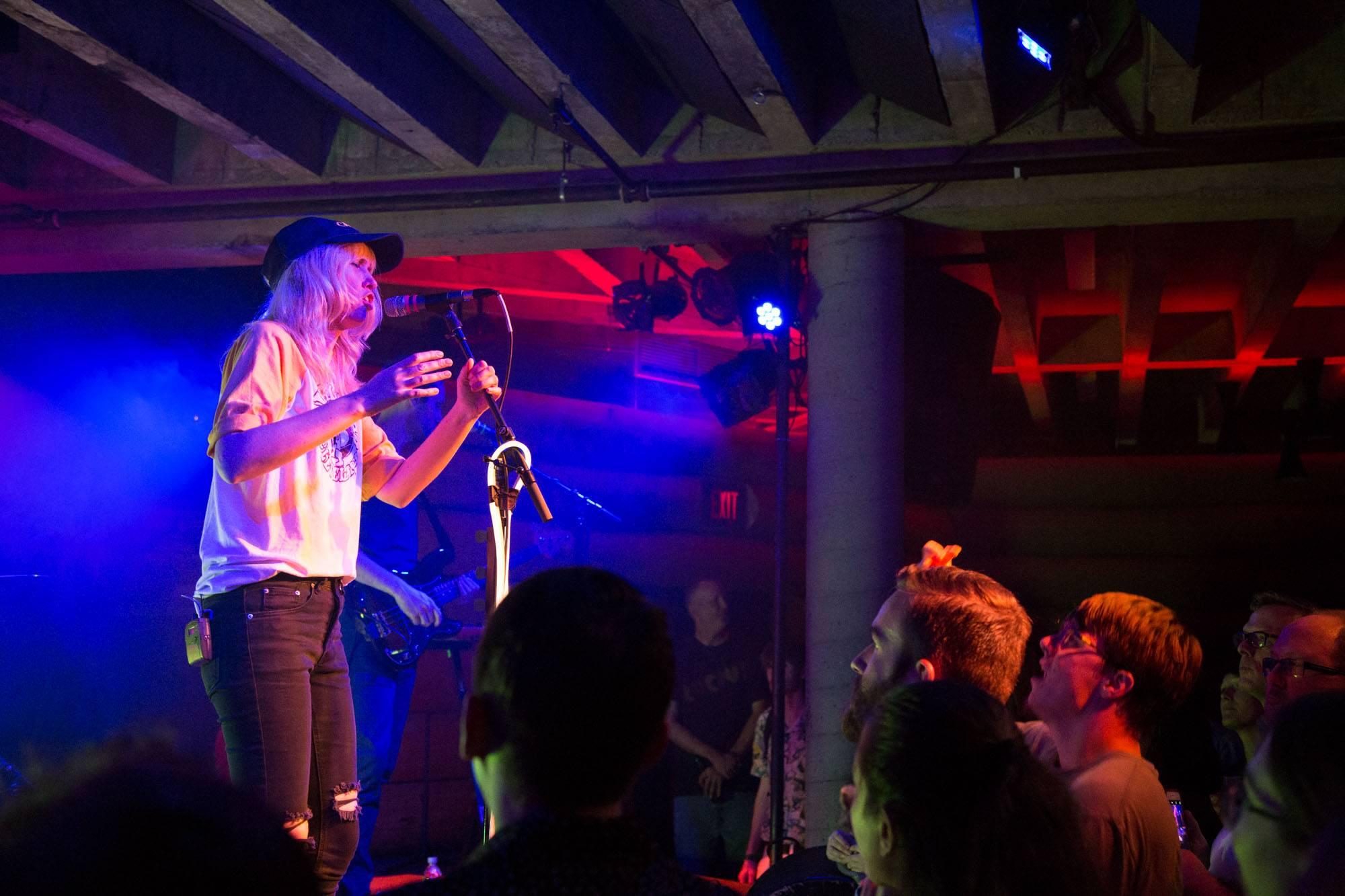 Ladyhawke at the Doug Fir Lounge, Portland, Jul 1 2016. Kirk Chantraine photo.