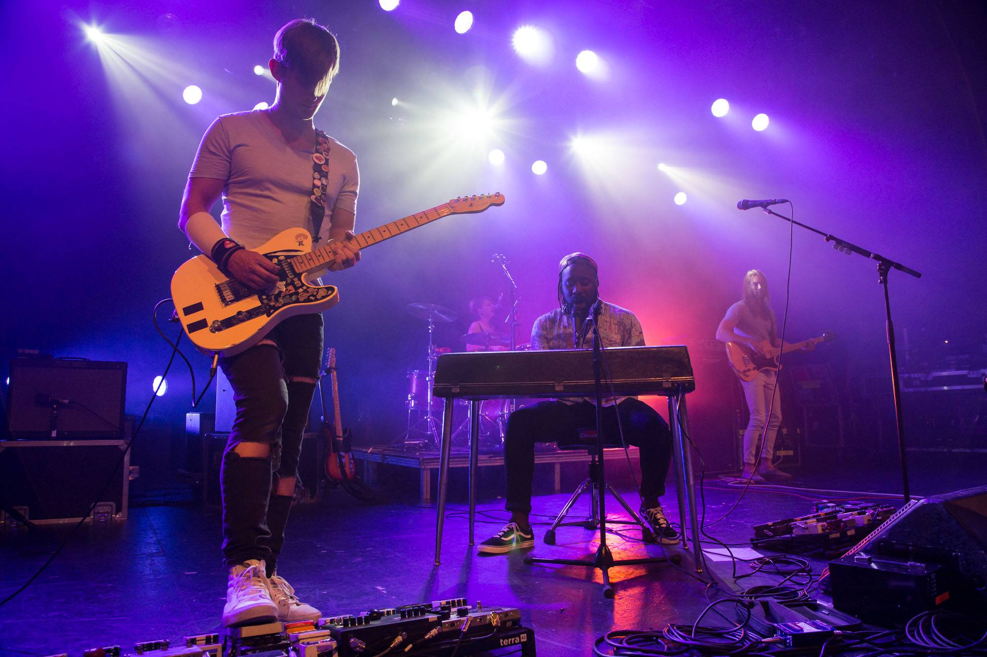 Bloc Party at the Commodore Ballroom, Vancouver, Sept. 16 2016. Kirk Chantraine photo.