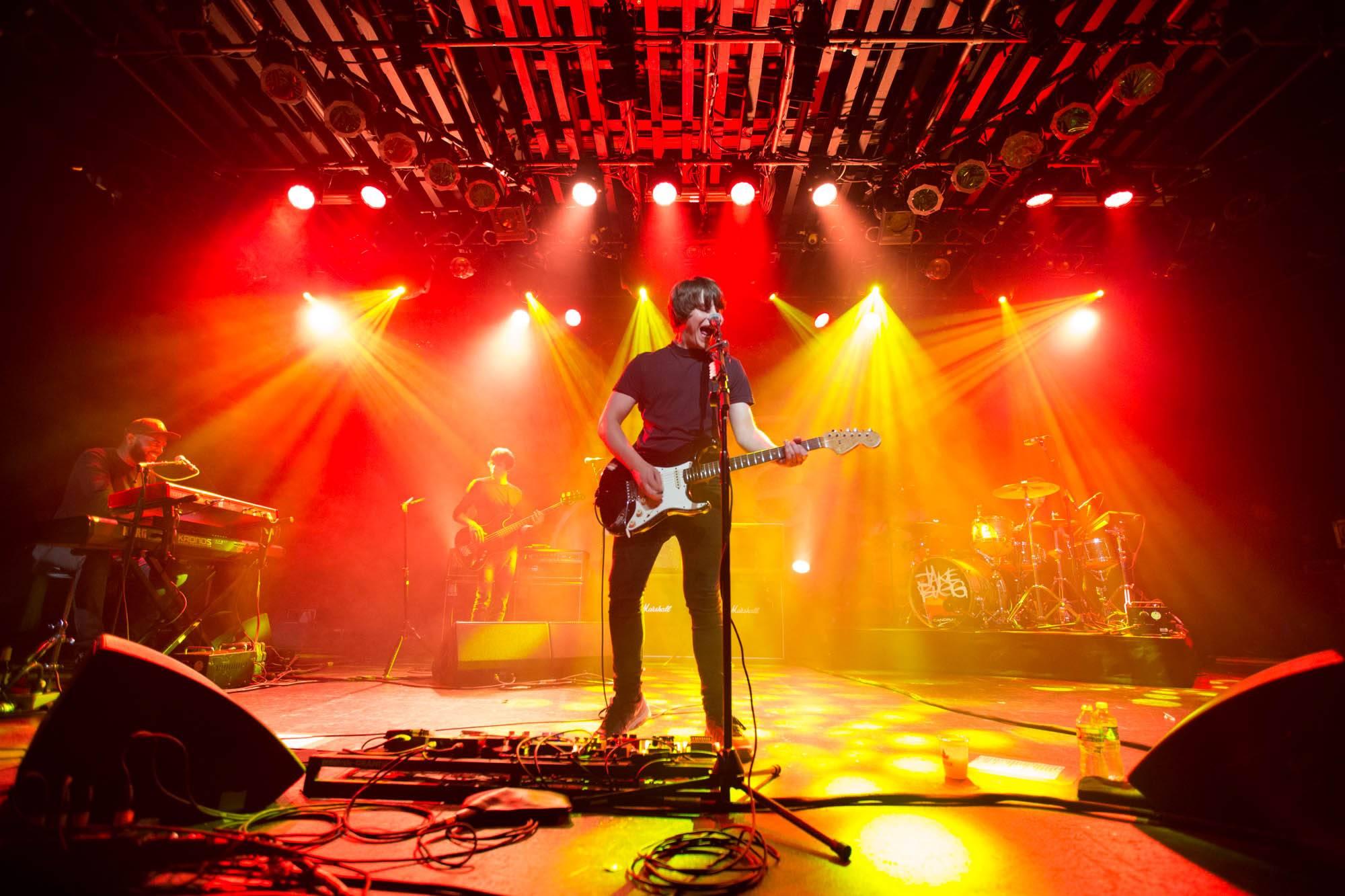 Jake Bugg at the Commodore Ballroom, Vancouver, Sept. 7 2016. Kirk Chantraine photo.