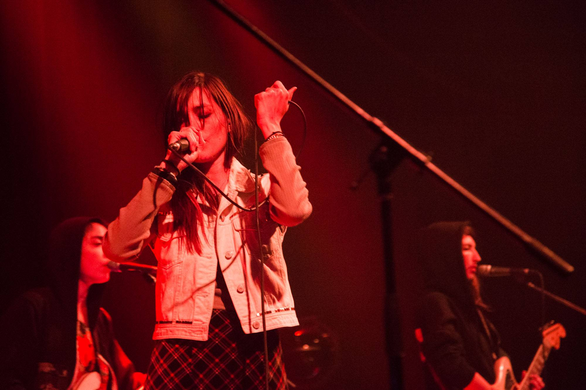 Warpaint at the Imperial, Vancouver, Sept. 20 2016. Kirk Chantraine photo.