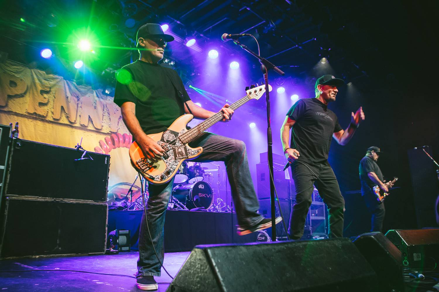 Pennywise at the Commodore Ballroom, Vancouver, Oct. 1 2016. Pavel Boiko photo.