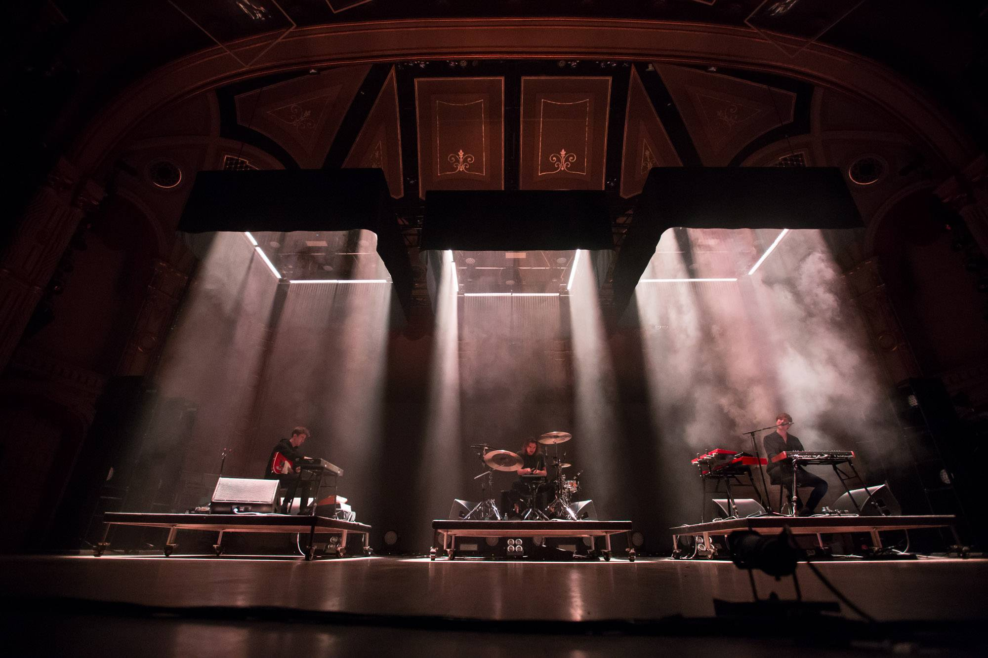 James Blake at the Orpheum Theatre, Vancouver, Oct. 13 2016. Kirk Chantraine photo.