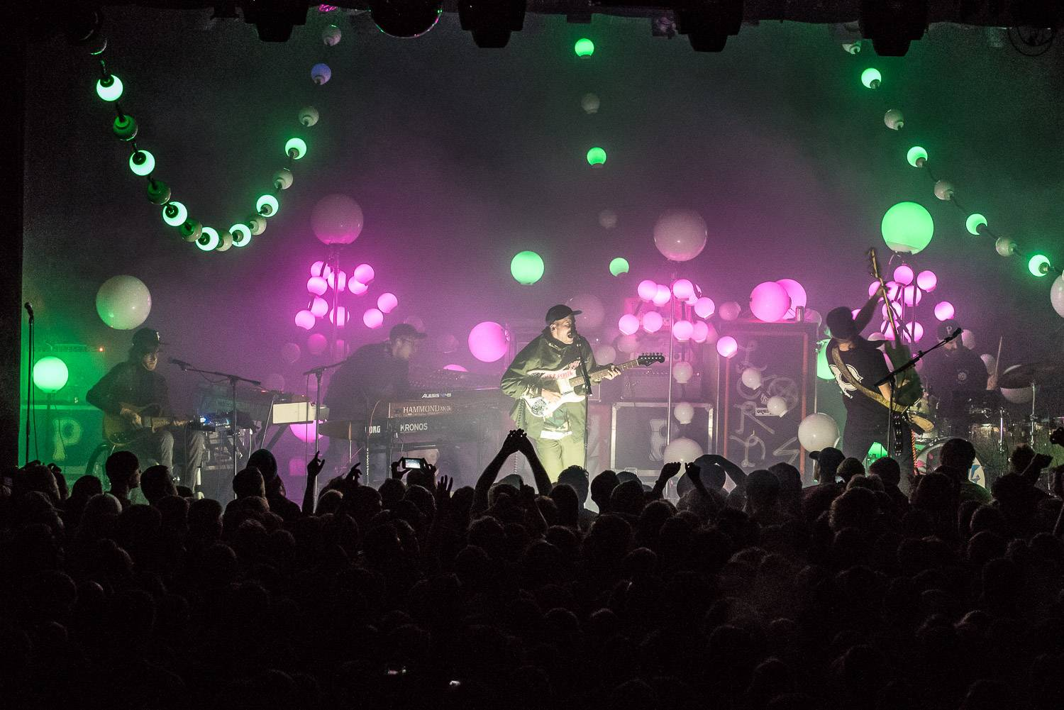 Portugal. The Man at the Commodore Ballroom, Vancouver, Nov. 17 2016. Pavel Boiko photo.