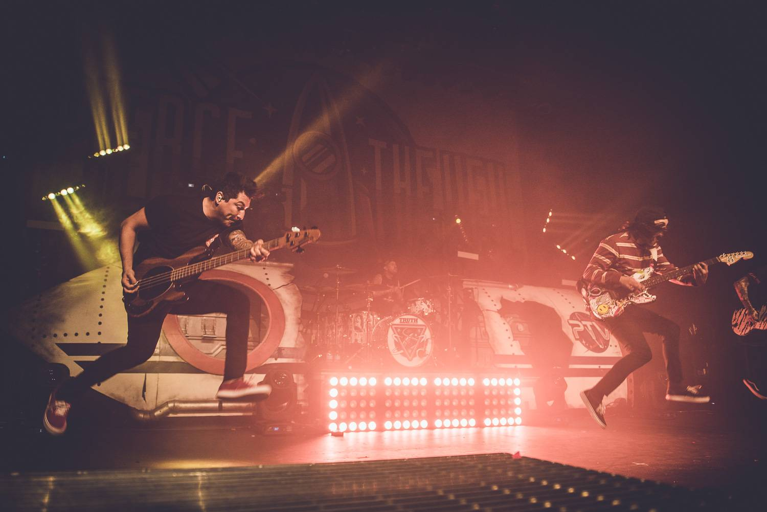 Pierce The Veil at the Vogue Theatre, Vancouver, Feb. 2o 2017. Pavel Boiko photo