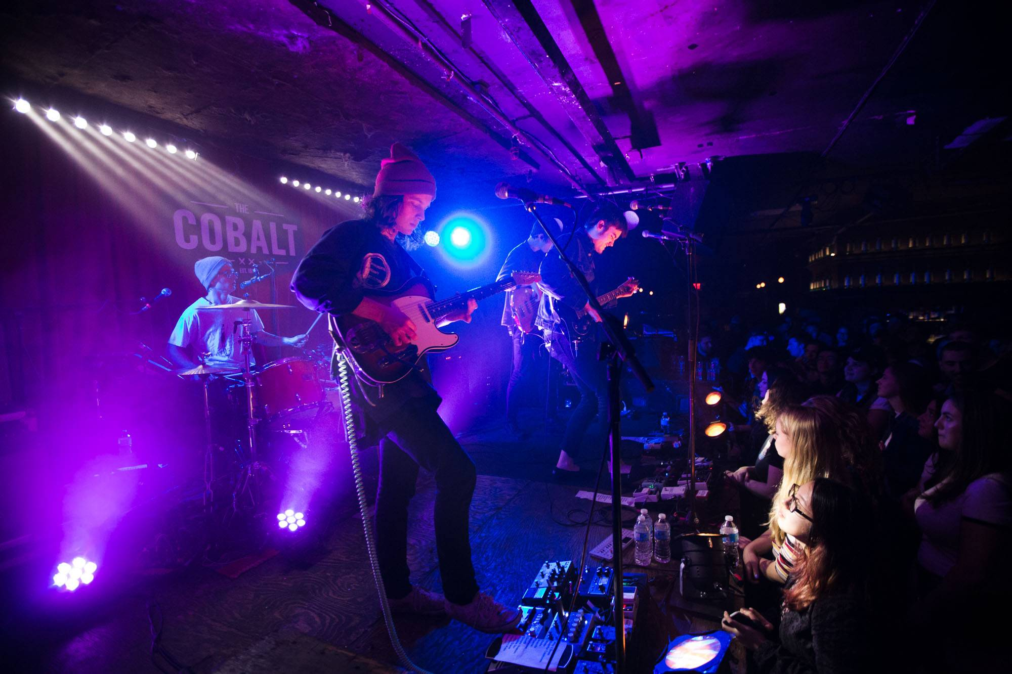 Hippo Campus at the Cobalt, Vancouver, Feb. 23 2017. Kirk Chantraine photo.