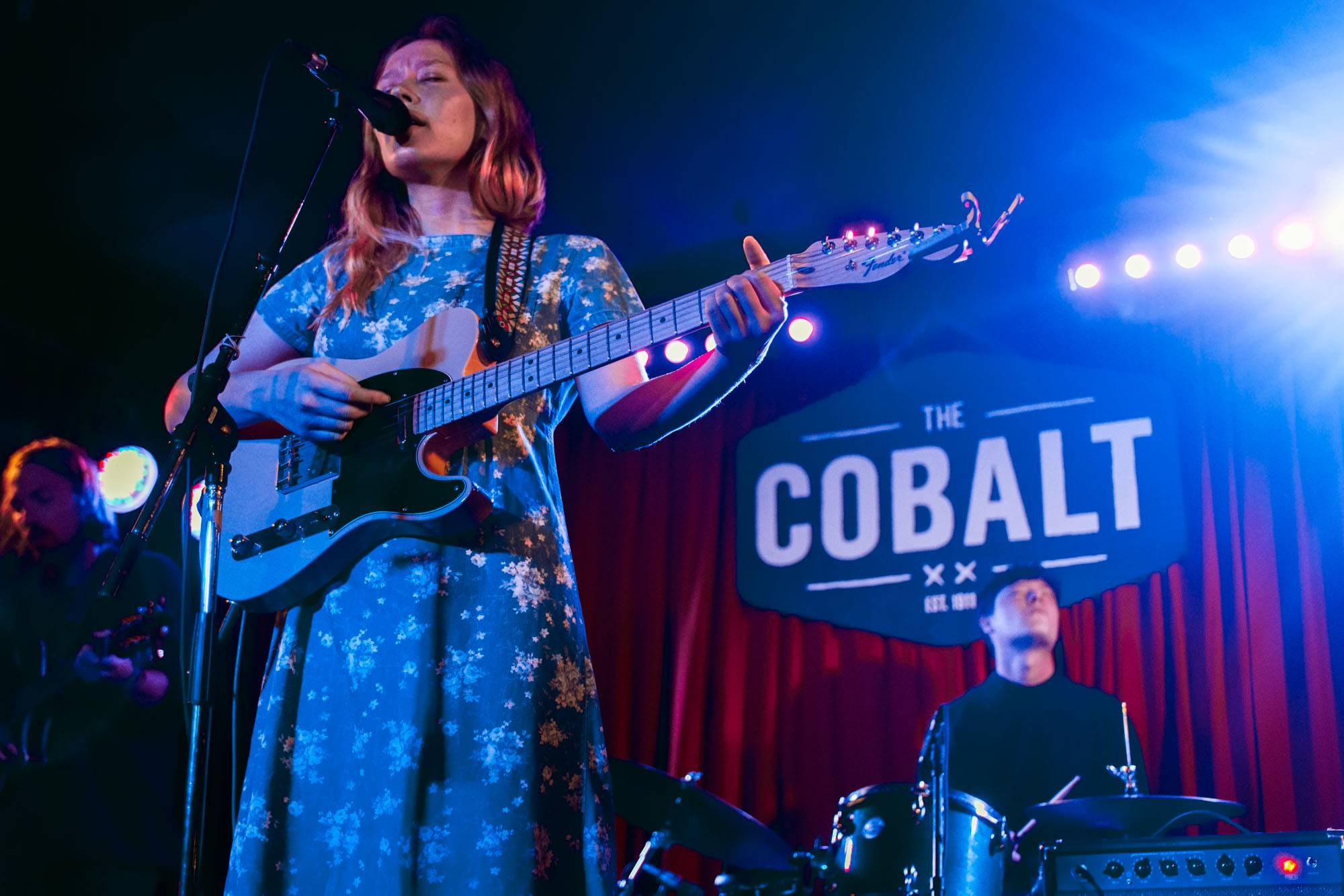 Julia Jacklin at the Cobalt, Vancouver, Apr. 20 2016. Jessica Vandergulik photo.