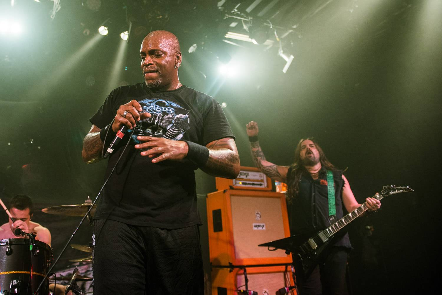 Sepultura at the Commodore Ballroom, Vancouver, May 10 2017. Pavel Boiko photo.