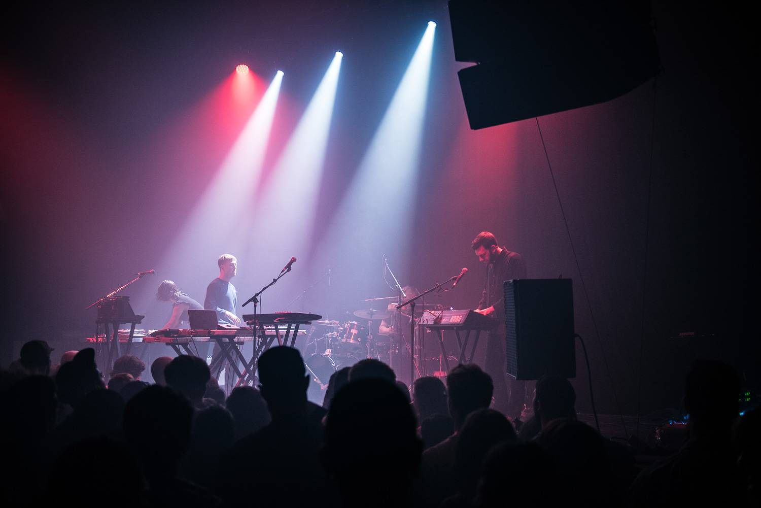 Mount Kimbie at the Imperial Nightclub, Vancouver, June 8 2017. Pavel Boiko photo.