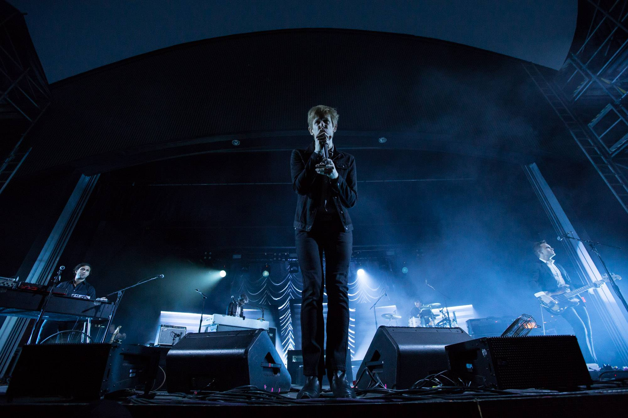 Spoon at Malkin Bowl, Vancouver, Sept 2 2017. Kirk Chantraine photo.
