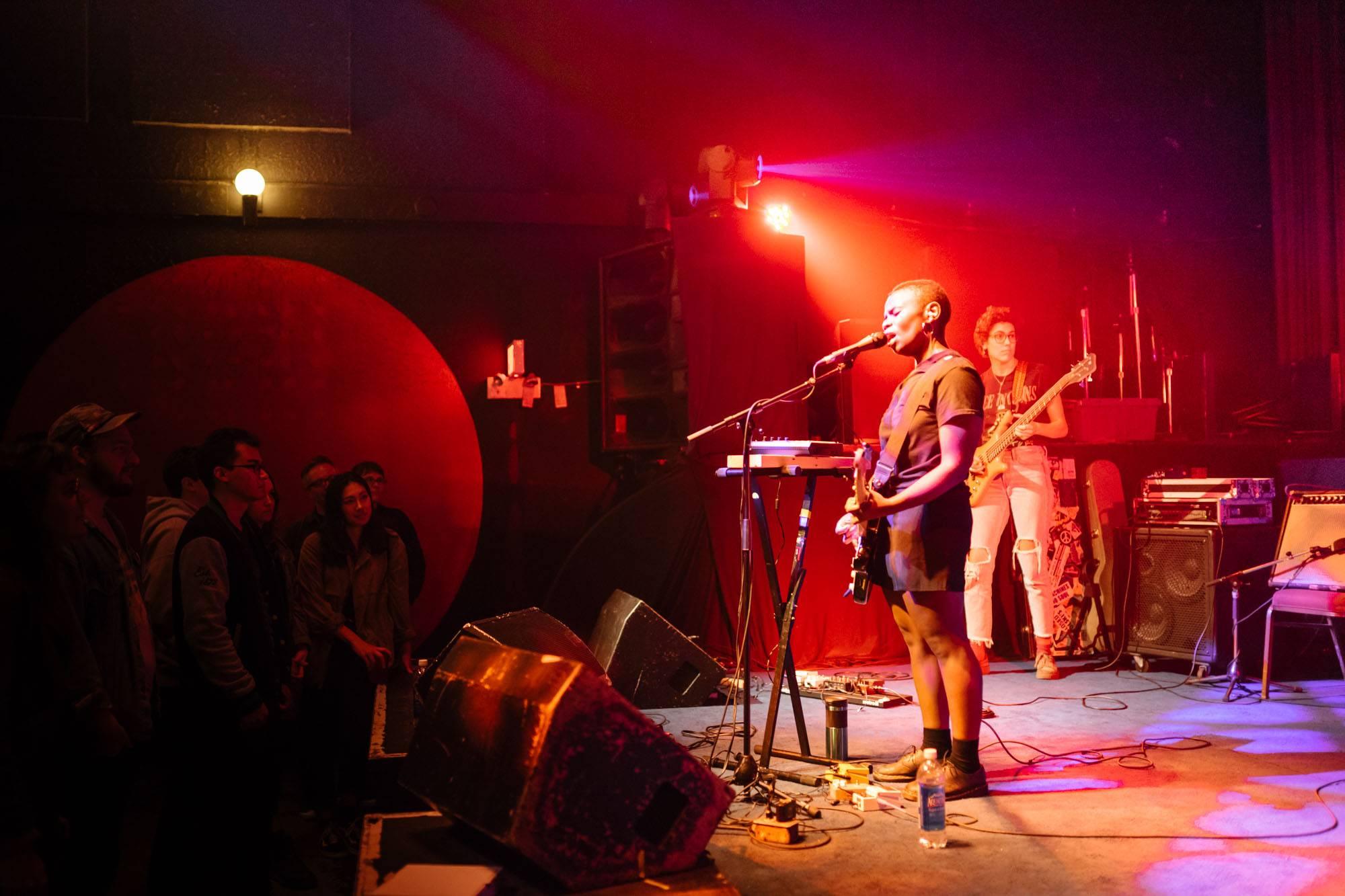 Vagabon at the Fox Cabaret, Vancouver, Sept 25 2017. Dhruv Govil photo.